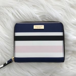 NEW Kate Spade Striped Wallet
